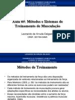 Aula_09_Métodos e Sistemas de Treinamento de Musculação