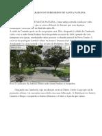 Roteiro detalhado  - TRILHA - MADRE PAULINA