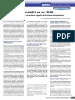 RFC 04-16 - Principe de matérialité - Grauer-Gaynor (7)
