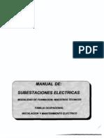 manual de subestaciones electricas