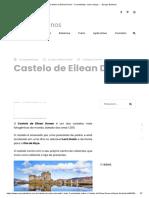 Castelo de Eilean Donan - Curiosidades, como chegar... - Europa Destinos