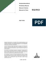 Deutz FAHR-912 Manual