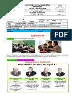 4.GUIA TALLER COLOMBIA DESPUES DEL FRENTE NACIONAL,  II SEMESTRE SOCIALES.5° 2020. - copia