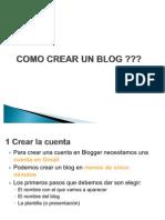Guía para crear un Blog