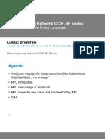 Cisco RPL Webinar Slides CLN