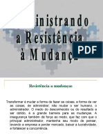 Resistência_Mudanças