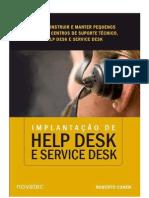 Implantação de Help Desk e Service Desk - Roberto Cohen
