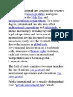 Public Int. Law