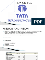 PRESENTATION ON TCS