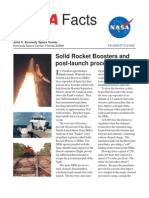NASA Facts Solid Rocket Boosters and Post Launch Processing 2004