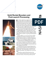 NASA Facts Solid Rocket Boosters and Post-Launch Processing 2006