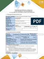 Guía  Rubrica Observación y Entrevista 403011_Paso 4 Aplicación entrevista
