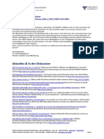 "[DE] PROJECT CONSULT Newsletter ""Information Management News"" März 2020"
