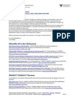 "[DE] PROJECT CONSULT Newsletter ""Information Management News"" Mai 2020"