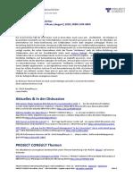 "[DE] PROJECT CONSULT Newsletter ""Information Management News"" August 2020"