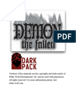 demon the fallen conversion guide