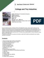 [NIIR] Profitable Cottage and Tiny Industries