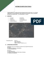 Informe Inspección Técnica
