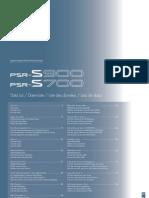 Yamaha PSR S700 Manual Book