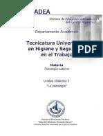 UD2 la psicología