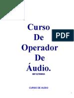 curso de audio A Mesa de Som givaldo