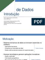 Aula1 - Introducao Banco de Dados