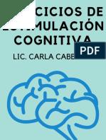 Compilado de ejercicios de estimulacion cogntiva @tallerdememoria