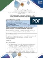 Guia de actividades y Rúbrica de evaluación Paso 2. Tomar decisiones gerenciales en un caso de estudio..pdf
