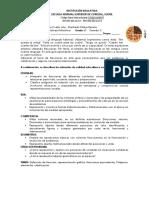 MATEMATICAS Y GEOMETRIA GUIA N°4 GRADO 6°