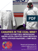 CANARIES IN THE COAL MINE? -- COVID-19 SYMPTOM & IMPRESSIONS