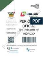 Diario Oficial Estado de Hidalgo Alc 5 del 30 sep 2020.pdf