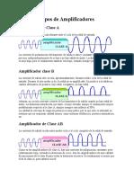 Tipos de Amplificadores AC