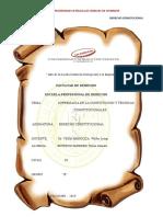 SUPREMACÍA DE LA CONSTITUCIÓN Y TÉCNICAS CONSTITUCIONALES