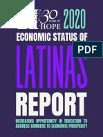 HOPE's Economic Status of Latinas