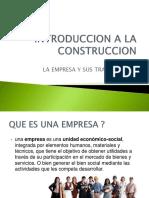 CLASE 1 INTRODUCCION A LA CONSTRUCCION
