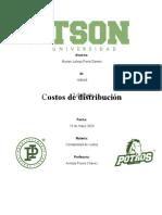 Costos de distribucion