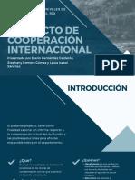 PROYECTO FINAL DE COOPERACIÓN INTERNACIONAL
