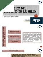 BENEFICIOS DEL EJERCICIO EN LA SALUD