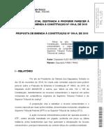 Parecer do Relator da PEC 199 de 20019 - Dep. Fabio Trad - Protocolado.pdf