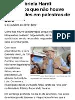 ConJur - Hardt reconhece que não houve ilegalidades em palestras de Lula.pdf