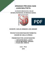 CANCER DE CUELLO UTERINO 1