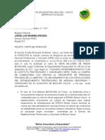 CARTA DE INTENCION MUNICIPIO DE BOLIVAR CAUCA