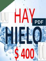 HAY HIELO