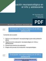 Clase 14. Evaluación neuropsicológica en el niño y adolescente.pdf