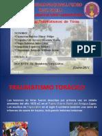 Traumatismos de tórax