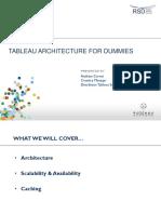 Arhitectura Tableau