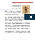 Biografía Jesús de Nazaret