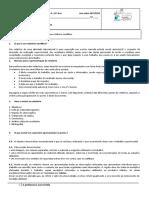 Ficha informativa nº 1 - como elaborar um relatório