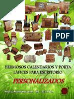 Campaña Calendarios y Porta Lapiz