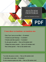 INGLÊS SEM FRONTEIRAS - SO or NEITHER